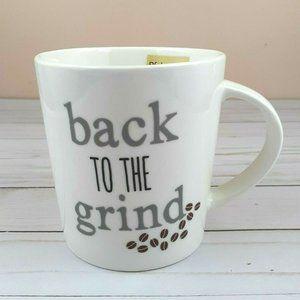Pfaltzgraff Coffee Mug Cup Back To The Grind